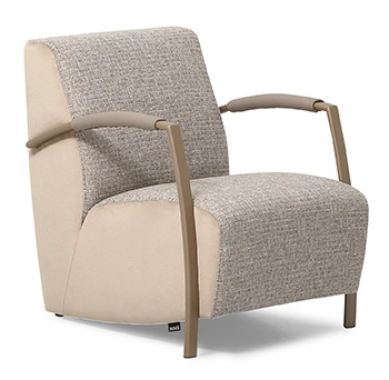 Montel Leren Fauteuils.Nieuw Montel Sue Rainbow Collection Fauteuils